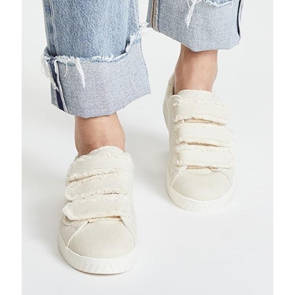 Carry Fringe Velcro Sneakers   Poshmark